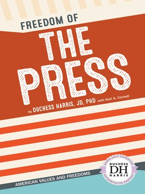 cover image of Freedom of the Press